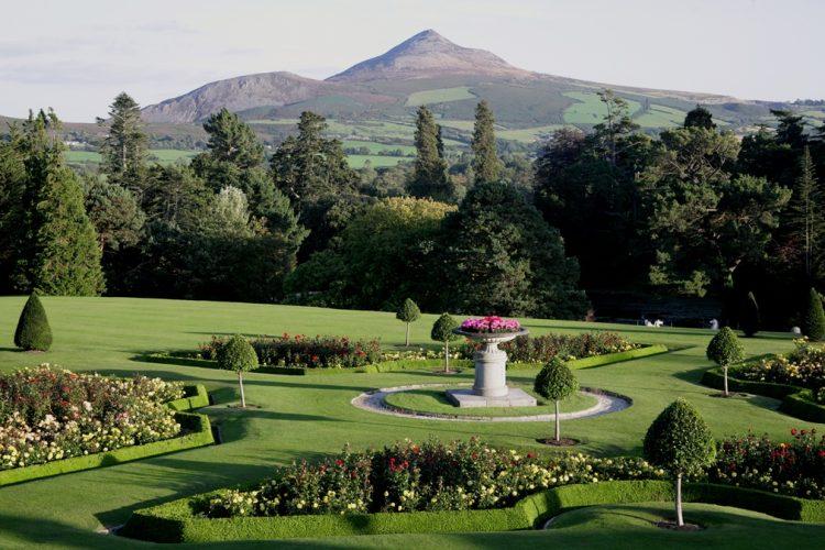 Vackra trädgårdar världen runt